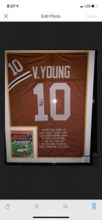 Texas-Vince Young Jersey