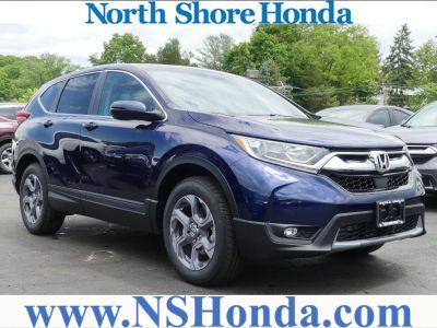 2018 Honda CR-V EX-L AWD (Obsidian Blue Pearl)