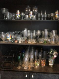 Estate sale with loaded collectibles,..