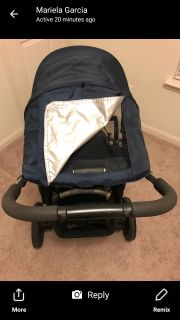 UPPABABY STROLLER hardly used