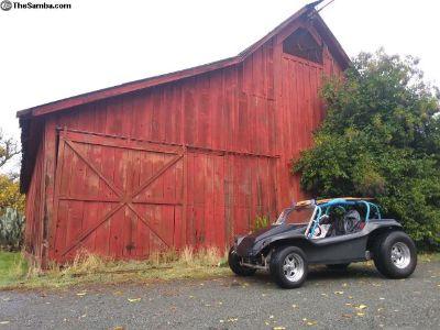 Carbon fiber show stopper buggy