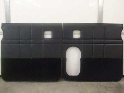 Purchase 359 379 377 378 Pete Dump Truck Special Door Panels Black Set of Two motorcycle in Joplin, Missouri, US, for US $399.00