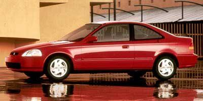 1998 Honda Civic EX (Red)