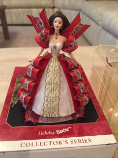 Holiday Barbie Ornament 1997
