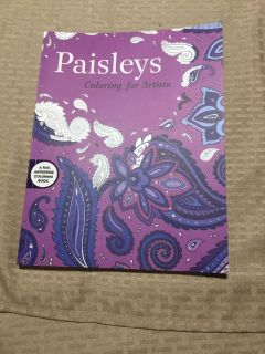 New paisleys coloring book for artists g3