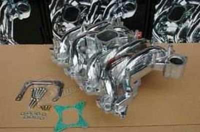 Purchase 1999-2004 Mustang GT 4.6 2V Polished Aluminum ProComp Qualifier Intake Manifold motorcycle in Elkton, Virginia, US, for US $599.95