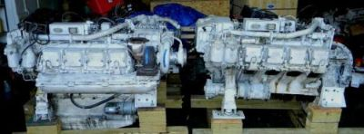 Purchase MTU 8V-396TB93 USED MARINE ENGINES motorcycle in Fort Lauderdale, Florida, United States
