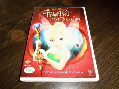 tinkerbell and the lost treasure dvd