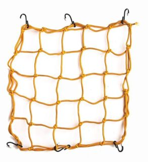 Purchase Motorcycle Cargo Helmet Web Bungee Cord Packing Net ORANGE motorcycle in Bemidji, Minnesota, US, for US $10.95