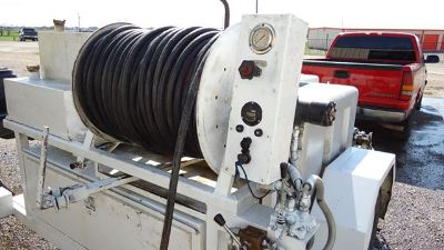 Plumbers we RENT Hydro JETTERS  Daily or Weekly  500 12 Hose with Nozzles  Trailer Units DFW
