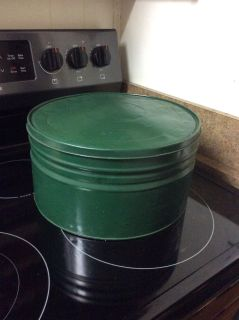 Large Vintage Tin Container