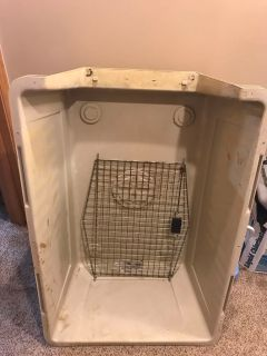 Large dog kennel ***free***