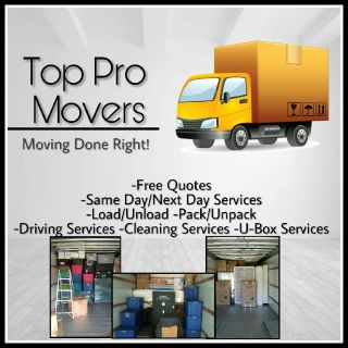 Top Pro Movers Moving Help Services