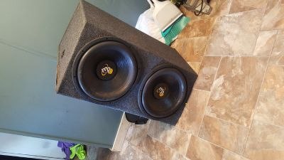 2 mp audio 15 inch speakers