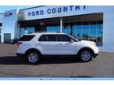 Certified 2015 Ford Explorer FWD XLT