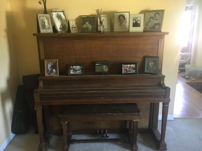 Upright Antique piano- make an offer