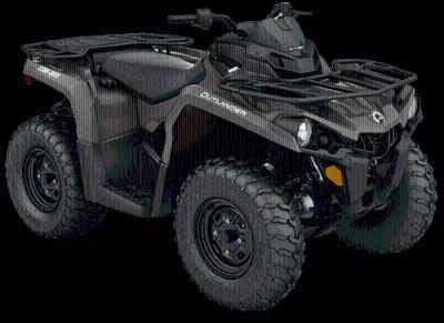 2018 Can-Am Outlander 450 Utility ATVs Castaic, CA