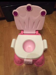 Fisher price 2-in-1 potty + step stool. Perfect clean condition. Check both pictures