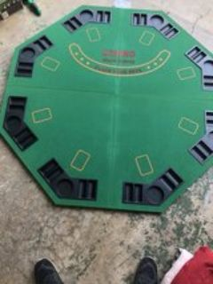 card table(foldable with carrying case)