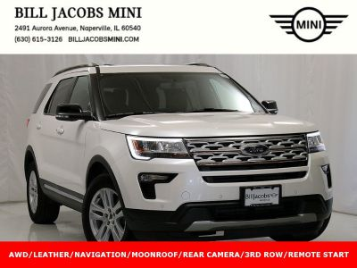 2018 Ford Explorer XLT (White Platinum Metallic Tri-Coat)