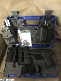 For Sale/Trade: M&P 9c 9mm Package