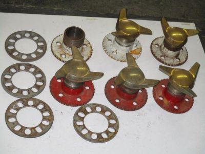Find Dayton Wire Wheel hubs with knock offs motorcycle in Urbana, Ohio, United States