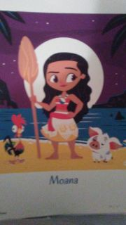 Moana/Pua/Hei limited edition serigraphic prints by Dave Perillo