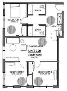 $9630 3 apartment in Jamaica Plain