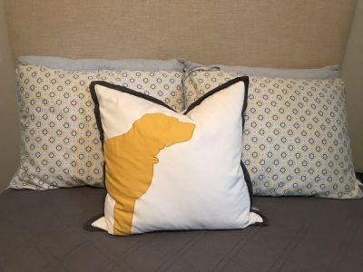 Pottery barn and Serena Lily bedding