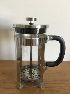8 Cup 32 oz French Press Coffee Maker/Tea Maker with Stainless Steel Plunger High Quality Glass and Stainless Steel Construction