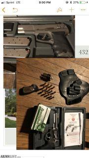 For Sale: Ruger P90 (45) & Ruger SP101 (357)