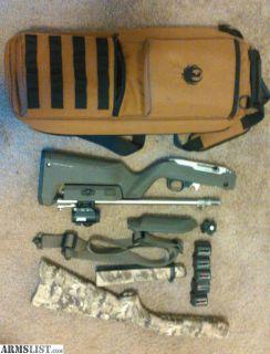 For Sale: Ruger 10/22 takedown stainless custom Volquartsen Magpul Skinner Bushnell TRS-25