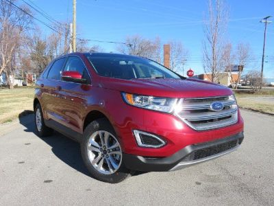 2017 Ford Edge SEL FWD (Ruby Red Metallic Tinted Clearcoat)