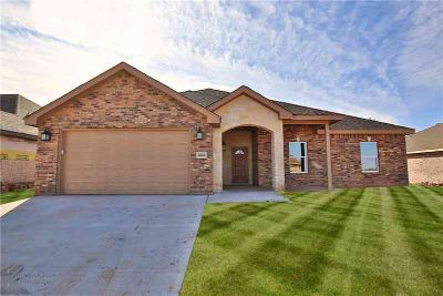 6841 Inverness Street Abilene, New Construction Three BR