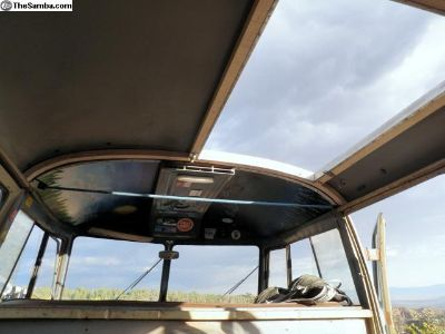 Fliphatch Westfalia wood roof bows