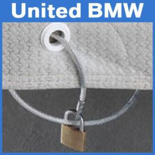 Sell Genuine BMW Cable Lock for Outdoor Car Cover motorcycle in Roswell, Georgia, US, for US $18.00