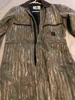Camouflage Coveralls.