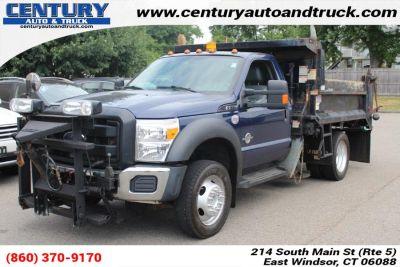 """2012 Ford Super Duty F-550 DRW 4WD Reg Cab 189"""" WB 108"""" CA XL (BLUE)"""