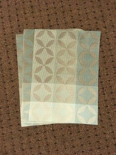 Set of 4 table placemats