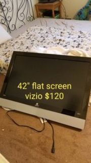 "42""tv and 3 chairs price on pics"