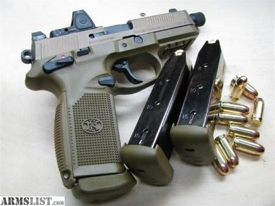 """For Sale: FNP 45 TACTICAL PISTOL IN FDE """"Package"""""""