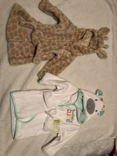 New baby robes