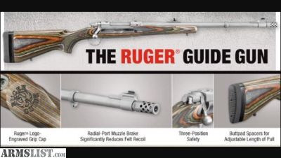 For Sale: Ruger Guide Gun 30-06
