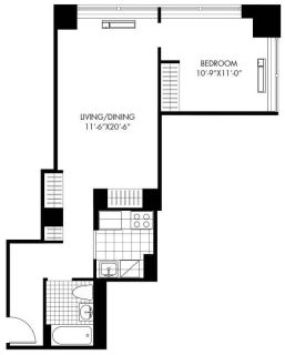 $5730 1 apartment in Battery Park City