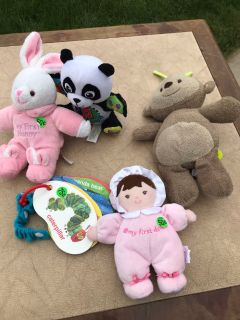 Plush and stroller toys lot