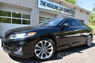 2015 Honda ACCORD COUPE 2dr V6 Auto EX-L w/Navi (Crystal Black Pearl)