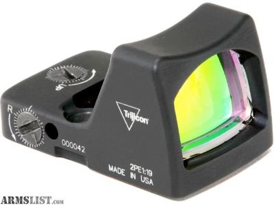 For Sale: Trijicon 6.5 MOA RMR Type 2 Reflex Red Dot Sight