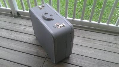 Vintage Skyway Hardcase Hardshell Suitcase Luggage
