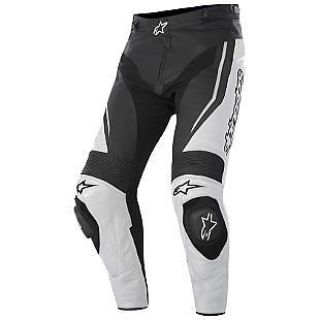 Purchase Alpinestars Track 2015 Leather Pant White/Black motorcycle in Holland, Michigan, United States, for US $589.95
