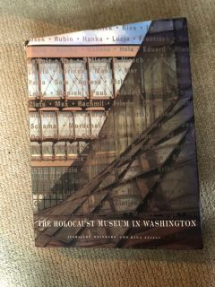 Coffee table book about the Holocaust Museum in WASHINGTON DC